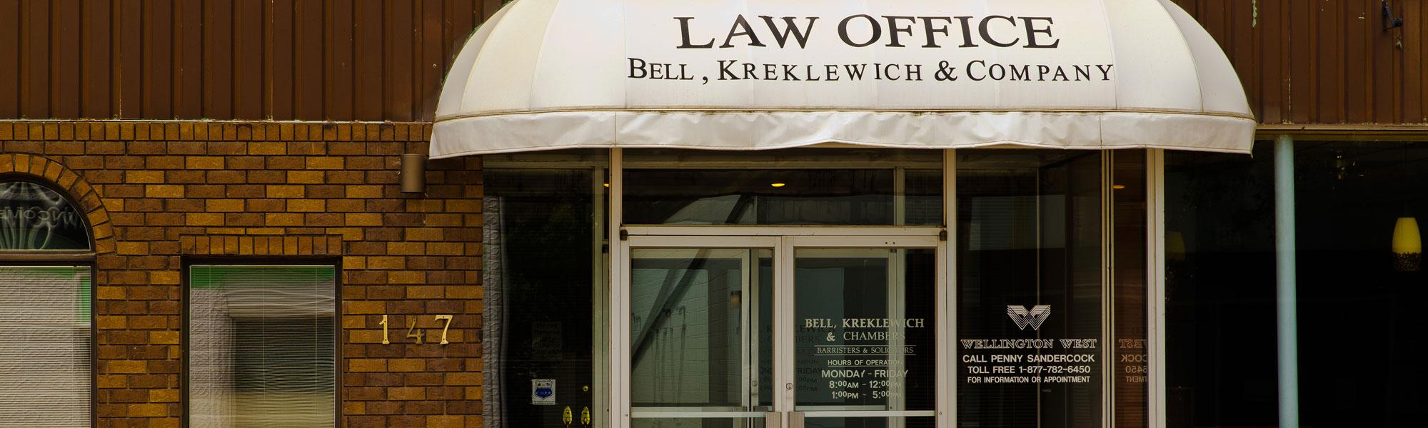 Bell Kreklewich Chambers
